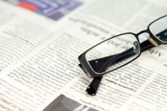A newspaper Stock Photography