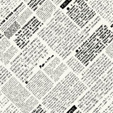 Newspaper pattern Royalty Free Stock Image