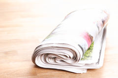 Newspaper or Press Stock Images