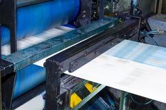 Newspaper printing machine Stock Photos
