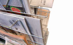 Newspaper Rack Stock Images