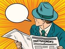Free Newspaper Reader Reaction Pop Art Royalty Free Stock Photo - 71996335