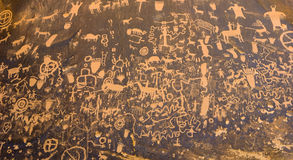 Newspaper Rock Stock Image