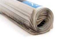 Newspaper roll stock image