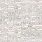 Newspaper seamless pattern Royalty Free Stock Photos
