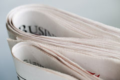 Newspaper series Stock Photography