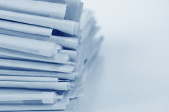 Newspaper Stack Royalty Free Stock Photos