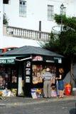 Newspaper stall, Vejer de la Frontera. Stock Image