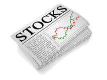 Newspaper Stock Stock Images