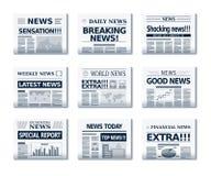 Newspaper Royalty Free Stock Image