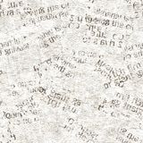 Newspaper vintage grunge collage seamless texture stock photo