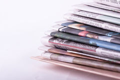 Newspapers Royalty Free Stock Photos