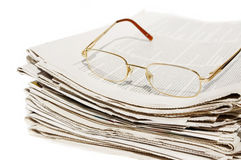 Daily newspapers Stock Images