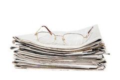Daily newspapers Stock Photography