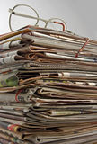 Newspapers. Stock Photo