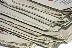 Newspapers Royalty Free Stock Image