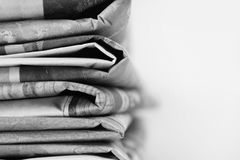 Newspapers Royalty Free Stock Photo