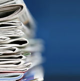 Newspapers concept Royalty Free Stock Image