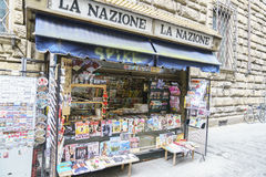 Newspapers in Italy Stock Photo