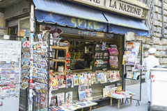 Newspapers in Italy Stock Images