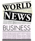Newspapers with Lorem Ipsum Copy vector illustration