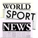 Newspapers with Lorem Ipsum Copy Stock Photos