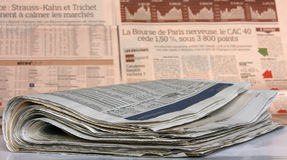 Newspapers Stock Images