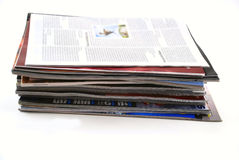 Newspapers and magazines Royalty Free Stock Image