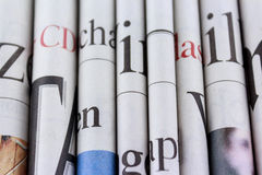 Newspapers, news concept Royalty Free Stock Photography