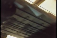 Newspapers printing during press run at printing plant stock footage