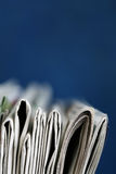 Newspapers stack concept Royalty Free Stock Photography