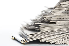 Newspapers. Royalty Free Stock Photography