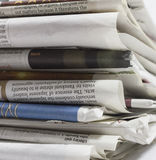 Newspapers - Stock Image. Newspapers. Image on white background Royalty Free Stock Image