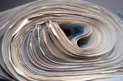 Newsprint Foto de Stock