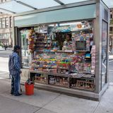 Newsstand in Manhattan, NYC Stock Photography