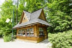 Newsstand in Zakopane Stock Image
