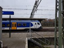 Newst Dutch train Stock Images