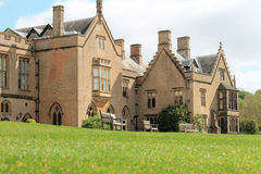 Newstead修道院的乡间别墅 免版税库存图片