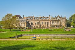 Newstead Abbey, England stock images