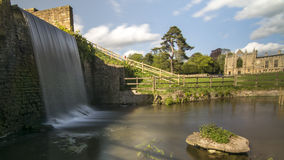 Newstead Abbey Falls Fotografie Stock