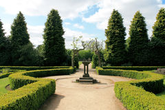 Newstead Abbey Gardens Stock Photo