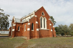 Newstead die die kerk verenigen op 15 September, 1907 als Methodist Kerk wordt geopend Stock Fotografie