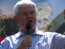 Newt Gingrich Stock Photos
