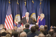 Newt Gingrich before a crowd. Stock Photography