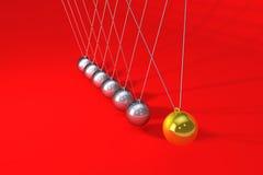 Newton balls royalty free illustration