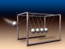 Newton cradle Royalty Free Stock Photos