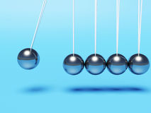 Newton cradle Royalty Free Stock Image