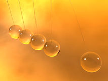 Newton cradle pendulums Royalty Free Stock Image