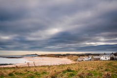 Newton Haven at Low Newton. Newton Haven also known as St Mary`s Haven, is on the Northumberland coastline at the village of Low Newton-by-the-sea royalty free stock photography