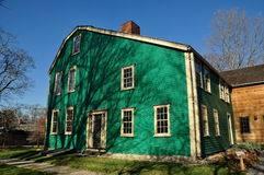 Newton, mA: Casa 1734 de Durant-Kenrick Imagen de archivo libre de regalías